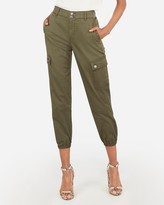 AE Super High Waisted Corduroy Cargo Jogger Pant