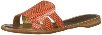 Marc Joseph New York Womens Leather Made in Brazil Slide Sandal