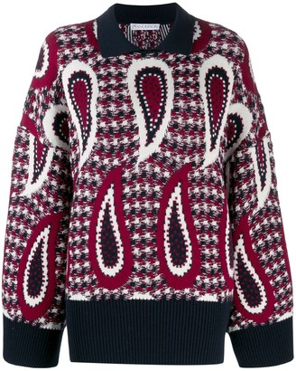 J.W.Anderson paisley long sleeve jumper