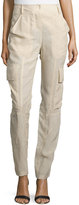 Kaufman Franco Slim-Fit Parachute Pants, Desert