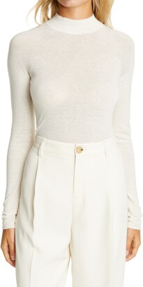 Vince Seamless Funnel Neck Sweater