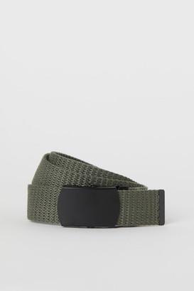 H&M Fabric Belt - Green