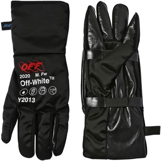 Off-White Techno Pouch Gloves