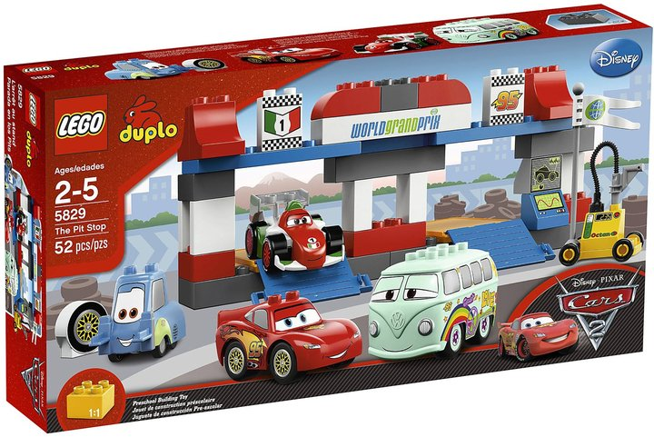 Lego Duplo Cars The Pit Stop 5829
