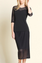 Clara Sunwoo Sweetheart Perforated Top