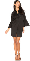 KENDALL + KYLIE Bell Sleeve Dress in Black. - size S (also in XS)