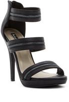 Michael Antonio Trials Zipper Detailed Platform Sandal