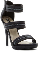 Michael Antonio Trials Zipper Platform Stiletto