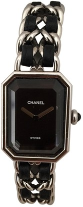 Chanel PremiAre Rock Black Steel Watches