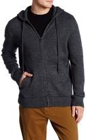 Billy Reid Zip Hooded Jacket