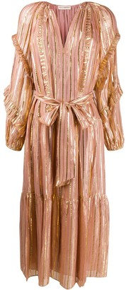 Ulla Johnson ruffled V-neck dress