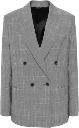 Filippa K Katie Double-breasted Wool And Cotton-blend Blazer