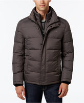 Calvin Klein Men's Big & Tall Classic Quilted Puffer Coat, a Macy's Exclusive Style