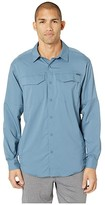 Columbia Silver Ridge Litetm Long Sleeve Shirt (Black) Men's Long Sleeve Button Up