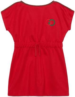 Gucci Children's technical jersey dress