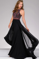 Jovani Embellished Bodice Chiffon Prom Dress 45998
