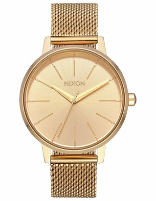 Nixon Womens Analogue Quartz Watch with Stainless Steel Strap A1229-502-00