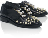 Coliac Black Pearl Derby Martina Shoes