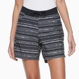 Columbia Women's Amberley Stream Striped Cargo Shorts