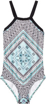 Seafolly Aztec Tapestry Tank Swimsuit