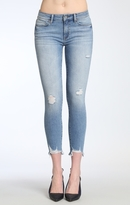 Mavi Jeans Adriana Ankle Super Skinny In Lt Destructed Vinta
