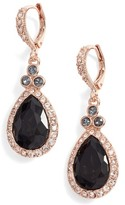 Givenchy Women's Pave Pear Drop Earrings