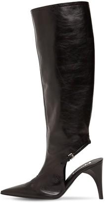 Jil Sander 95mm Leather Tall Boots
