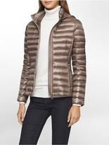 Calvin Klein Lightweight Packable Down Hooded Jacket