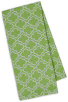DESIGN IMPORTS Design Imports Lime Lattice Jacquard Set of 4 Kitchen Towels