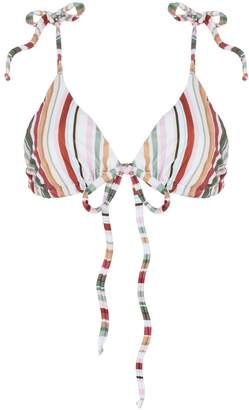 And Saunter String Triangle Top Stripe