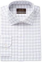 Tasso Elba Men's Classic-Fit Non-Iron Double Windowpane Dress Shirt, Only at Macy's