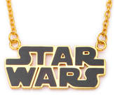 FINE JEWELRY Star Wars Gold IP Stainless Steel Logo Cutout Pendant Necklace