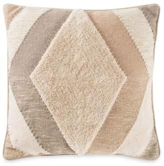 Callisto Home Ankara Geometric Tufted Pillow