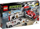 Lego Speed Champions Porsche 919 Hybrid & Pit Lane