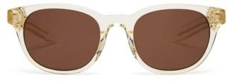 clear Flatlist - Logic Round Acetate Sunglasses - Mens