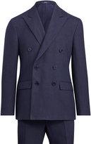 Ralph Lauren Polo Glen Plaid Linen Suit