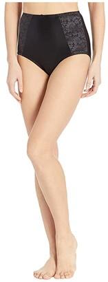 Bali Essentials Double Support Brief (Black) Women's Underwear