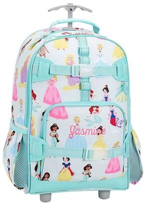 Pottery Barn Kids Mackenzie Aqua Disney Princess Backpack