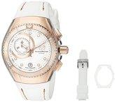 Technomarine Women's TM-114040 Cruise Analog Display Swiss Quartz White Watch