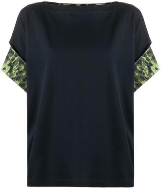Marni camouflage detail T-shirt