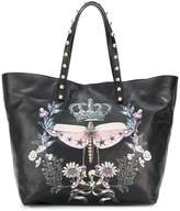 RED Valentino dragonfly print tote