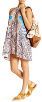 Mara Hoffman Peacock Cover-Up Swing Dress