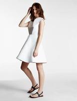 Halston Silk Faille Dress