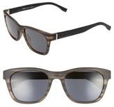 BOSS Men's 53Mm Polarized Sunglasses - Gray Horn Black/ Gray Blue