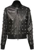 Diesel Black Gold DieselTM Leather jackets BGGEC - Black - 36