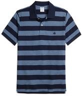 Brooks Brothers Slim Fit Wide Bar Stripe Polo Shirt