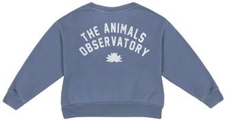 The Animals Observatory Bear cotton jersey sweatshirt