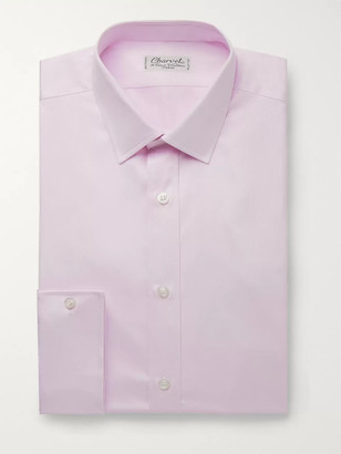 Charvet Lilac Cotton-Pique Shirt