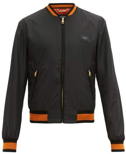 look out for large discount release info on Mens Dolce Gabbana Leather Bomber Jacket - ShopStyle