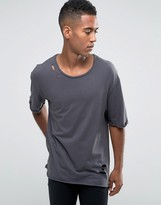 Jack and Jones T-shirt in Oversized Distressed Fit